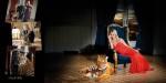Con la tigresa Noa de Faunia, para el catálogo benéfico de Chocrón joyeros