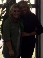 Con Amaia Montero